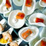 IMG_0815 Филе лосося в чайном маринаде с лимонным сыром на кра
