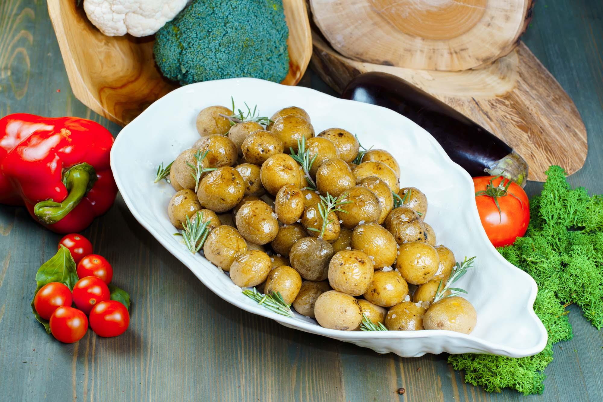 Картофель Ратте 1800 гр (12 порций по 150 гр)