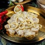 Шашлык из филе цыплёнка со специями гарам масала