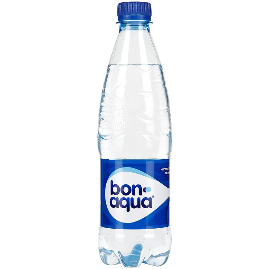 Вода питьевая BONAQUA газ. ПЭТ – 0,5