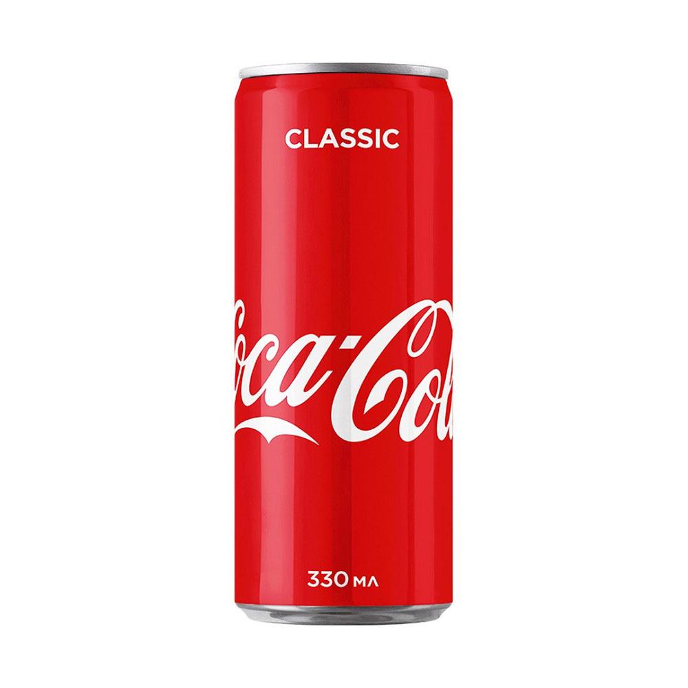Напиток безалкогольный COCA-COLA сильногаз. ж_б – 0,33