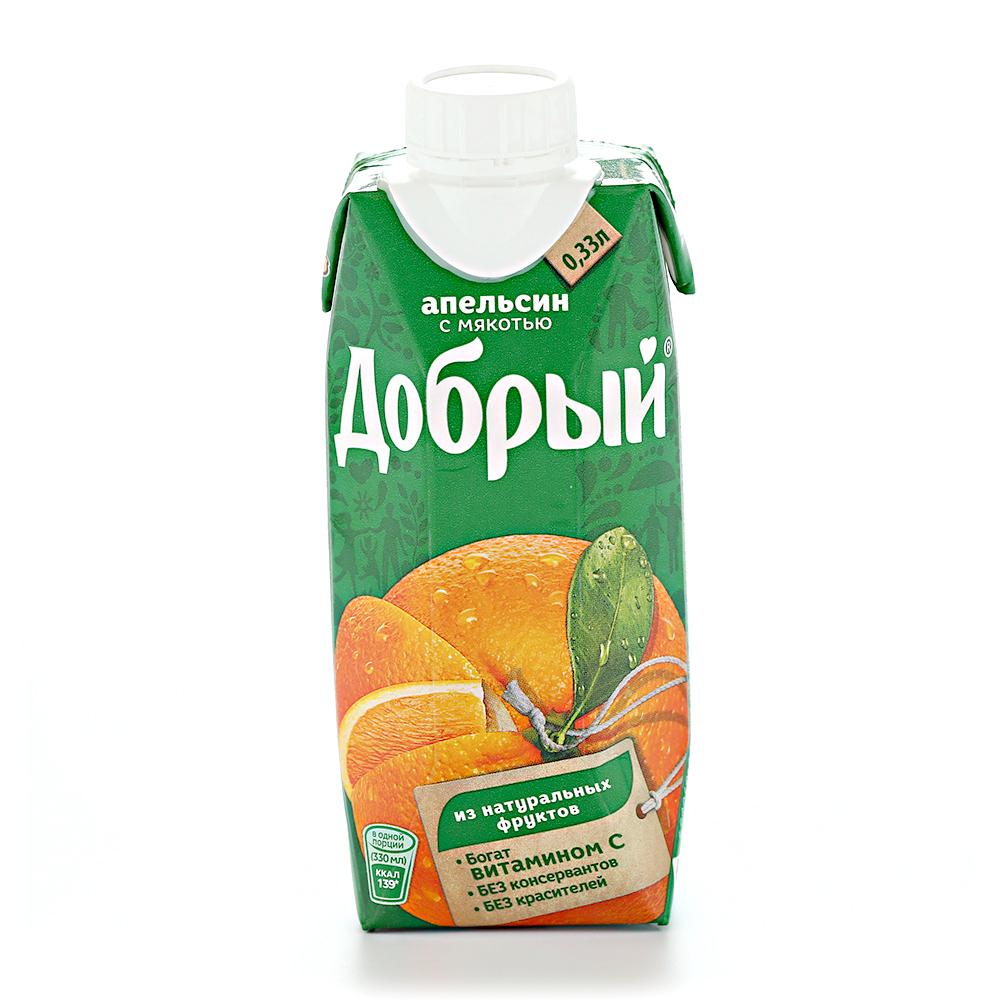 Нектар ДОБРЫЙ Апельсин т_пак. – 0,33
