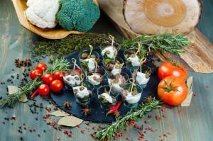 СЕТ №2 «Вителло Тоннато» (телятина с соусом из тунца) 12 шт по 30 гр