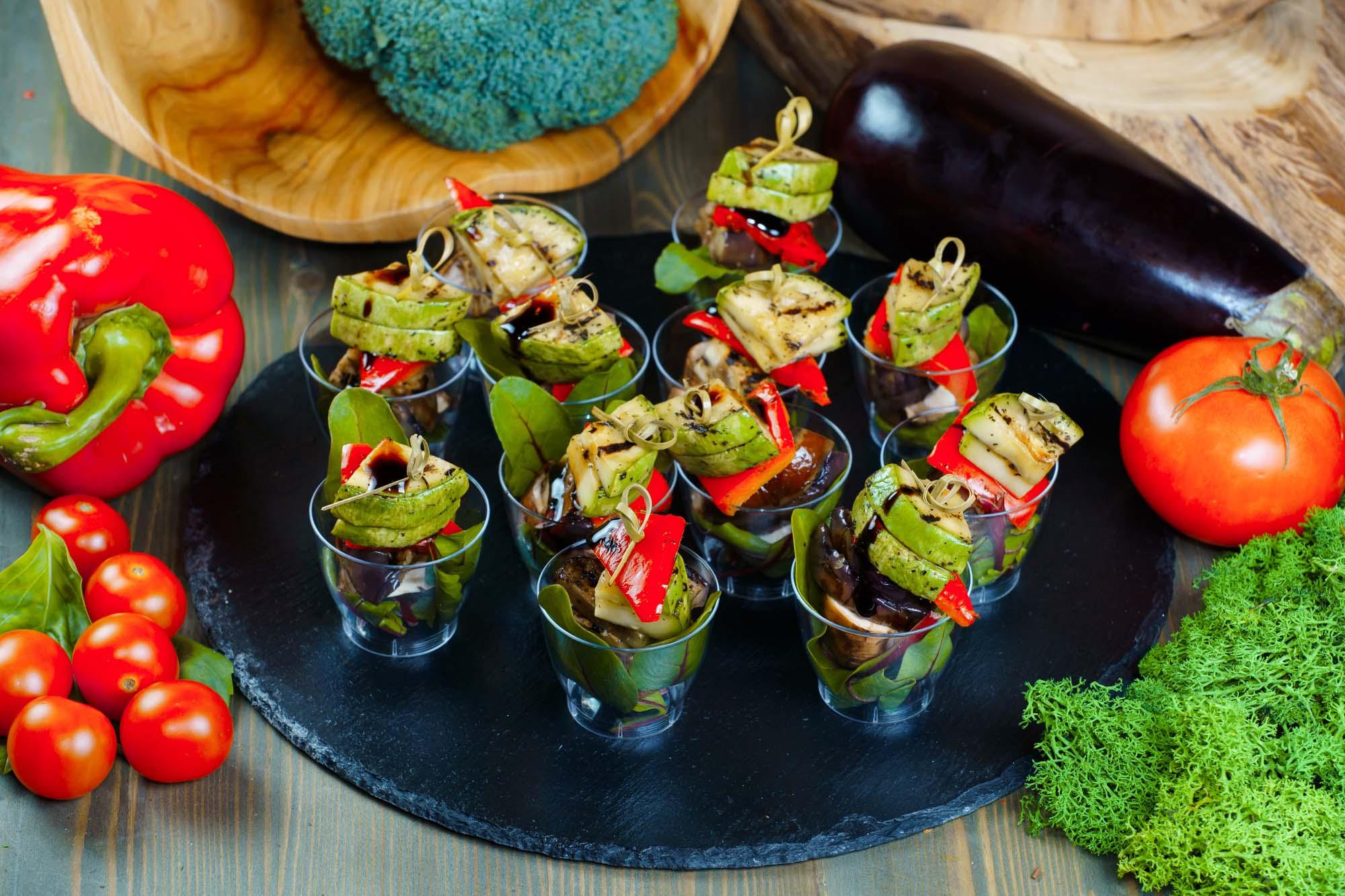 СЕТ №34 Овощи-гриль с бальзамиком 12 шт по 30 гр