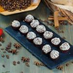 СЕТ №63 Трюфель из горького шоколада в кешью 24 шт по 15 гр