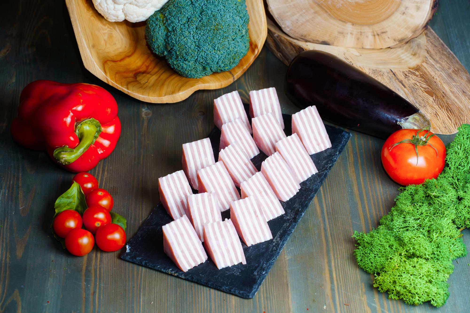 СЕТ №7 Канапе ветчина с сыром 18 шт по 25 гр